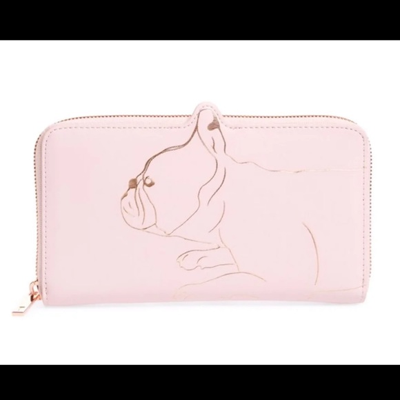 Ted Baker Handbags - SOLD Ted Baker French bulldog wallet. NWT.